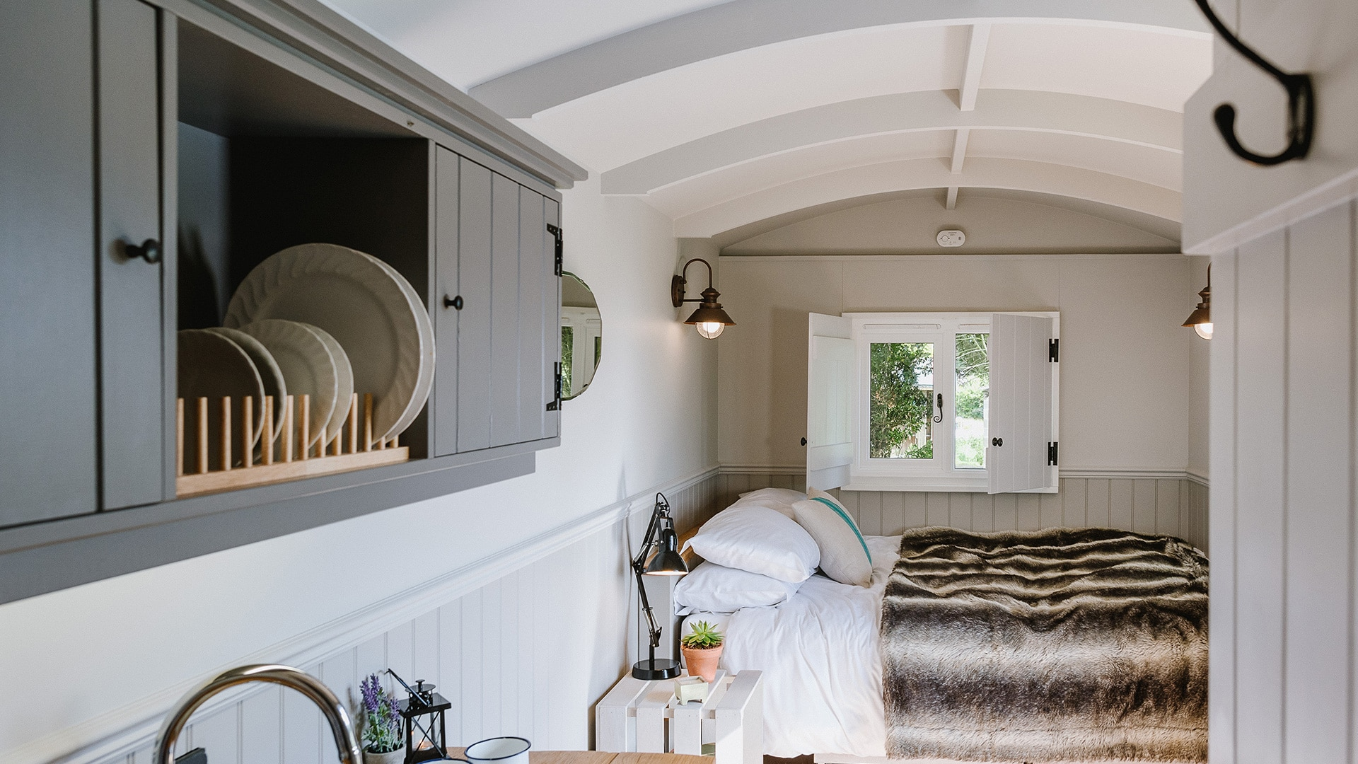 Godwick Hall Shepherd Huts Glamping in Norfolk